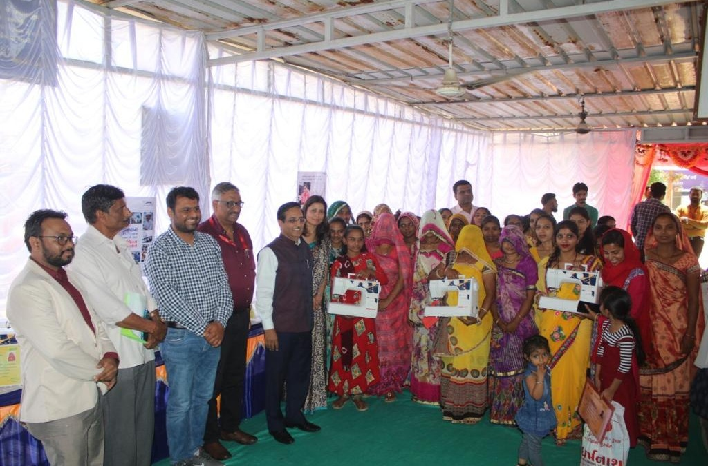 NHRCL distributes Sewing Machines to 23 Women on the eve of Women's Day