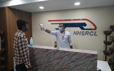 NHSRCL resumes various activities after Lockdown relaxations.